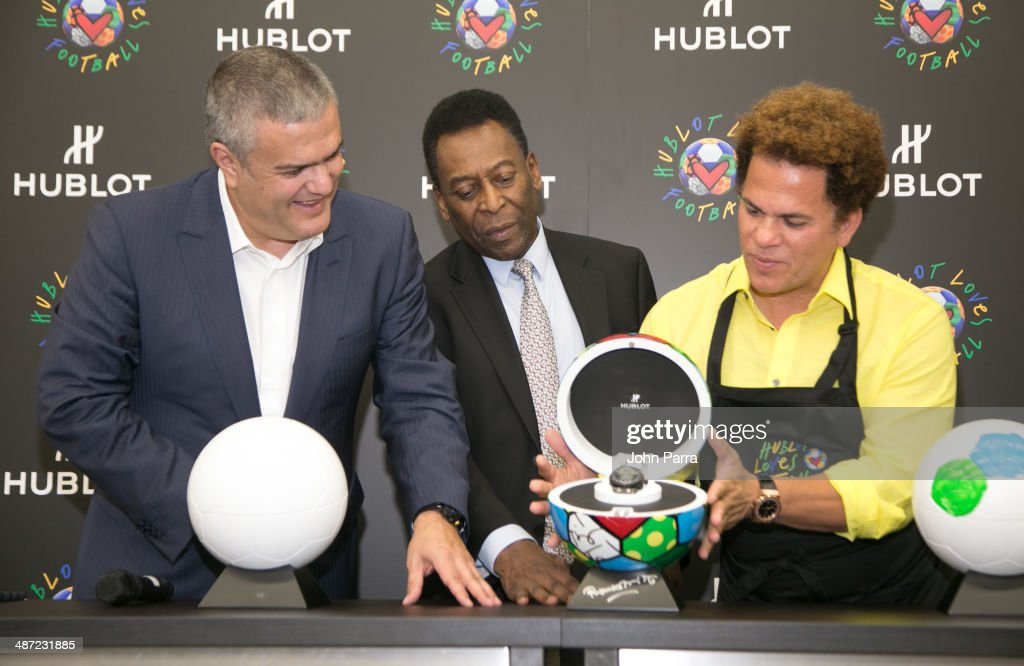 """""""Hublot Loves Football"""" American Stop with Pele in  Miami, FL"""