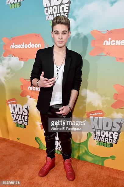 Ricardo Hurtado attends Nickelodeon's 2016 Kids' Choice Awards at The Forum on March 12 2016 in Inglewood California