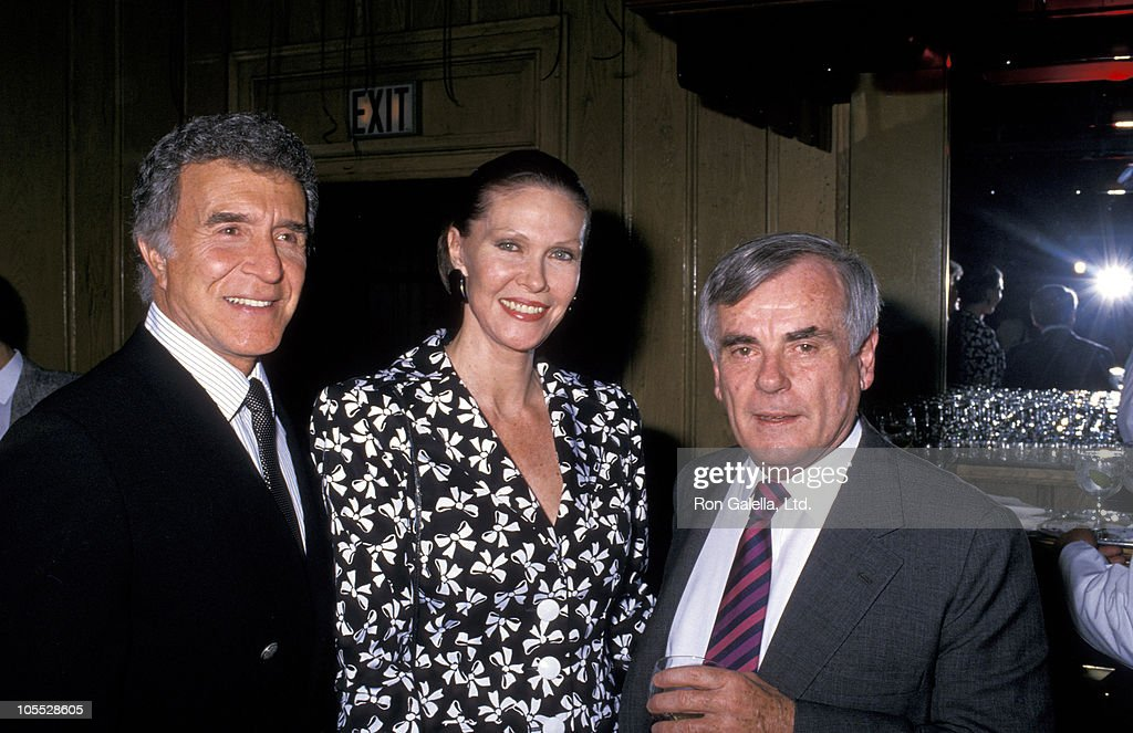 Ricardo Montalban, Montalban's wife and Dominick Dunn