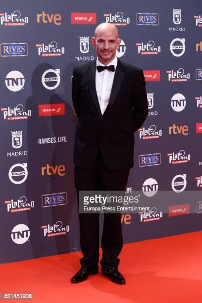 Ricardo Moran attends Platino Awards 2017 at La Caja Magica on July 22 2017 in Madrid Spain