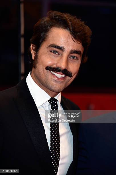 Ricardo Pereira attends the 'Letters from War' premiere during the 66th Berlinale International Film Festival Berlin at Berlinale Palace on February...
