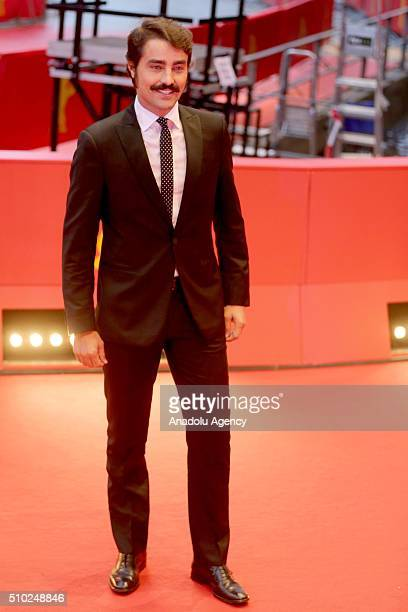 Ricardo Pereira attends the 'Letters from War' premiere during the 66th Berlinale International Film Festival Berlin at Berlinale Palace in Berlin...