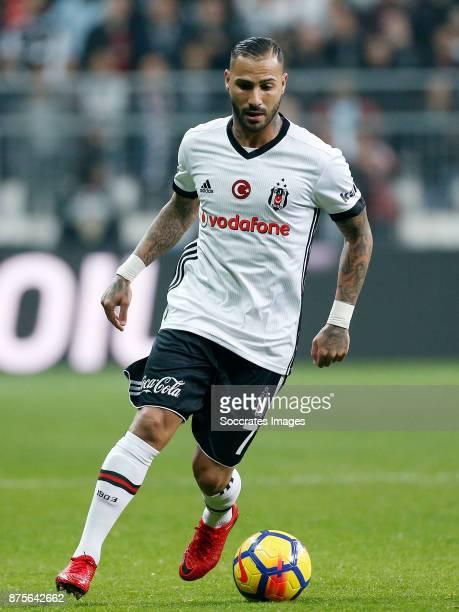 Ricardo Quaresma of Besiktas during the Turkish Super lig match between Besiktas v Akhisar Belediyespor at the Vodafone Park on November 17 2017 in...