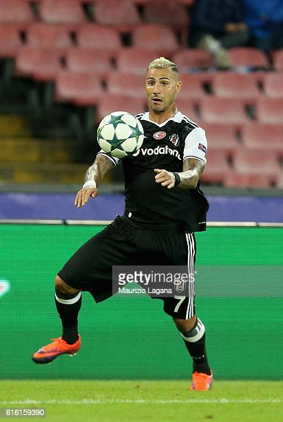 Ricardo Quaresma of Besiktas during the UEFA Champions League match between SSC Napoli and Besiktas JK at Stadio San Paolo on October 19 2016 in...