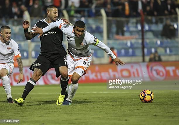 Ricardo Quaresma of Besiktas in action during the Turkish Spor Toto Super Lig match between Adanaspor and Besiktas at Adana 5 Ocak Fatih Terim...
