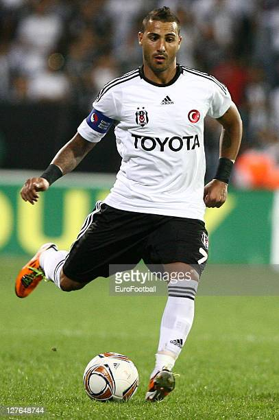 Ricardo Quaresma of Besiktas JK in action during the Turkish Spor Toto Super League match between Besiktas JK and Antalyaspor held on September 25...