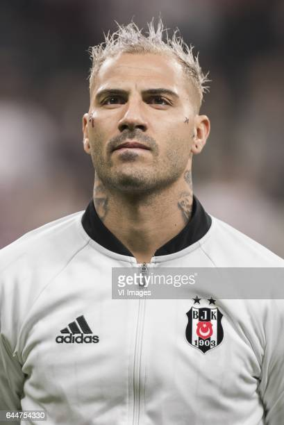 Ricardo Quaresma of Besiktas JKduring the UEFA Europa League round of 16 match between Besiktas JK and Hapoel Beer Sheva on February 23 2017 at the...