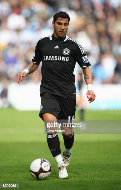 Ricardo Quaresma of Chelsea in action during the FA Cup Sponsored by EON 6th round match between Coventry City and Chelsea at the Ricoh Arena on...