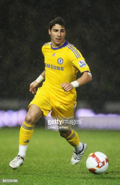 Ricardo Quaresma of Chelsea runs with the ball during the Barclays Premier League match between Portsmouth and Chelsea at Fratton Park on March 3...