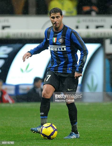 Ricardo Quaresma of FC Inter Milan in action during the Serie A match between FC Inter Milan and ACF Fiorentina at Stadio Giuseppe Meazza on November...