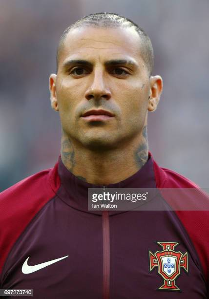Ricardo Quaresma of Portugal looks on prior to the FIFA Confederations Cup Russia 2017 Group A match between Portugal and Mexico at Kazan Arena on...