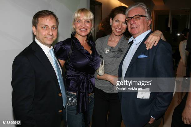 Ricardo Ranieri Nadia Kovarskaya Rachelle and Rafaello Siniscalco attend The Launch of BY LISSONI at Lissoni/Boffi Showroom on May 17 2010 in New...