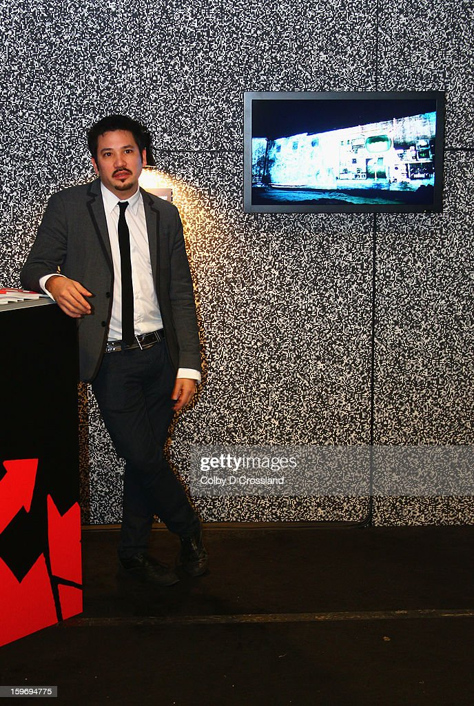 Ricardo Rivera attends the New Frontier Press Preview at New Frontier during the 2013 Sundance Film Festival on January 18, 2013 in Park City, Utah.