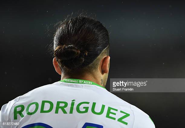 Ricardo Rodríguez of Wolfsburg looks forward during the Bundesliga match between Hannover 96 and VfL Wolfsburg at HDIArena on March 1 2016 in Hanover...