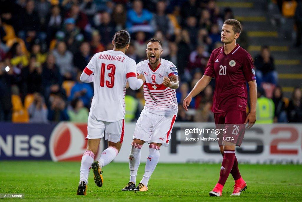 Latvia v Switzerland - FIFA 2018 World Cup Qualifier