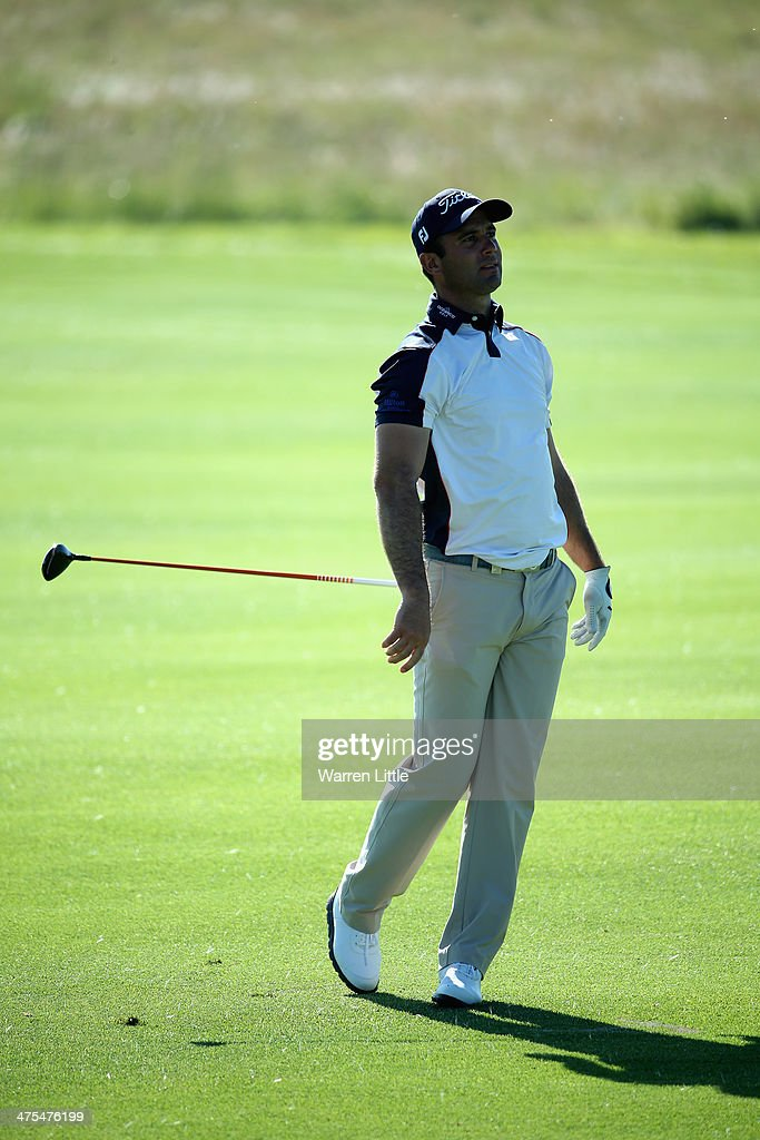 <a gi-track='captionPersonalityLinkClicked' href=/galleries/search?phrase=Ricardo+Santos+-+Golfer&family=editorial&specificpeople=14996103 ng-click='$event.stopPropagation()'>Ricardo Santos</a> of Portugal drops his club as he plays his second shot on the 15th hole during the second round of the Tshwane Open at Copperleaf Golf & Country Estate on February 28, 2014 in Centurion, South Africa.