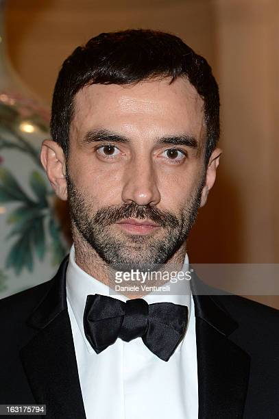 Ricardo Tisci attends the 'CR Fashion Book Issue 2' Carine Roitfeld Cocktail as part of Paris Fashion Week at Hotel ShangriLa on March 5 2013 in...