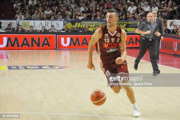 Riccardo Bolpin of Umana in action during the LBA LegaBasket of Serie A match between Reyer Umana Venezia and Auxilium Fiat Torino at Palasport...
