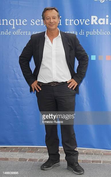 Riccardo Iacona attends the Palinsesti Rai photocall at Cavalieri Hilton Hotel on June 20 2012 in Rome Italy