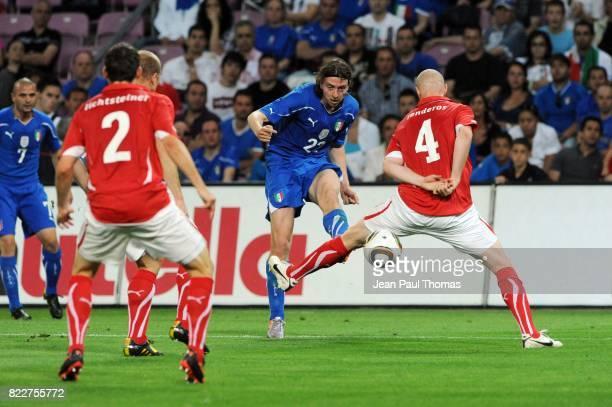 Riccardo MONTOLIVO Suisse / Italie Match de preparation Coupe du Monde 2010 Stade de Geneve