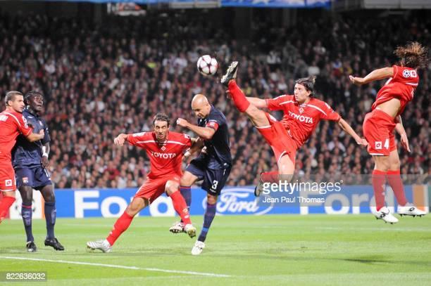 Riccardo MONTOLIVO Lyon / Fiorentina 1er tour Champions League