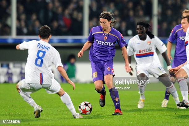 Riccardo MONTOLIVO Fiorentina / Lyon Champions League Stadio Artemio Franchi Florence Italie