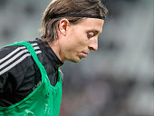Riccardo Montolivo before the serie A match between Juventus FC and AC Milan at the juventus stadium on november 21 2015 in torino italy