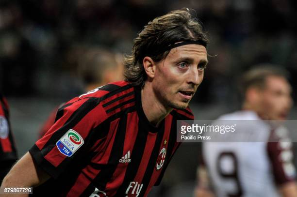 Riccardo Montolivo of AC Milan during Italian serie A match AC Milan vs Torino FC at San Siro Stadium The Italian Serie A match between AC Milan and...