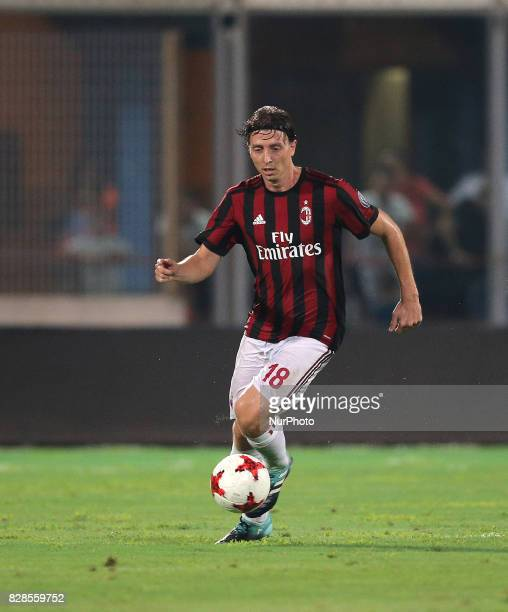Riccardo Montolivo of Milan during the PreSeason Friendly match between AC Milan and Villareal at Stadio Angelo Massimino on August 9 2017 in Catania...