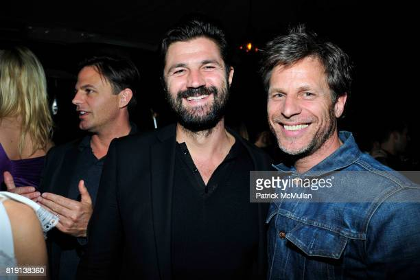 Riccardo Ruini Happy Massee attend NICOLAS BERGGRUEN's 2010 Annual Party at the Chateau Marmont on March 3 2010 in West Hollywood California