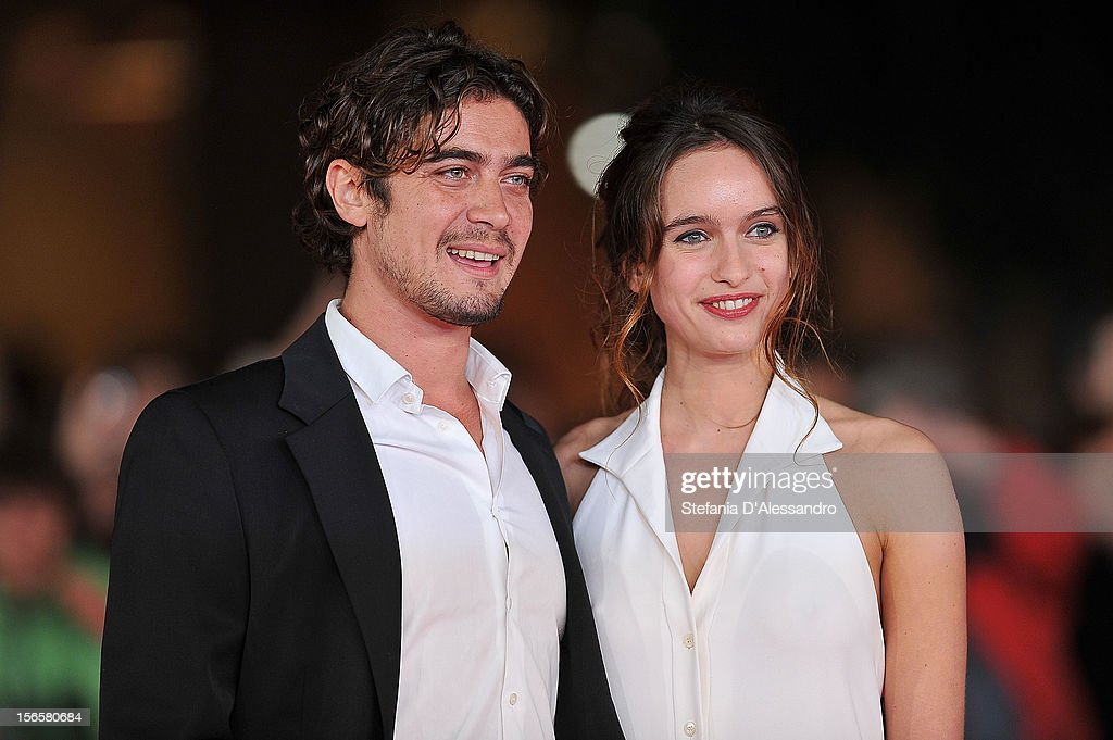 <a gi-track='captionPersonalityLinkClicked' href=/galleries/search?phrase=Riccardo+Scamarcio&family=editorial&specificpeople=816804 ng-click='$event.stopPropagation()'>Riccardo Scamarcio</a> and Clara Ponsot attend 'Cosimo E Nicole' Premiere during The 7th Rome Film Festival on November 16, 2012 in Rome, Italy.