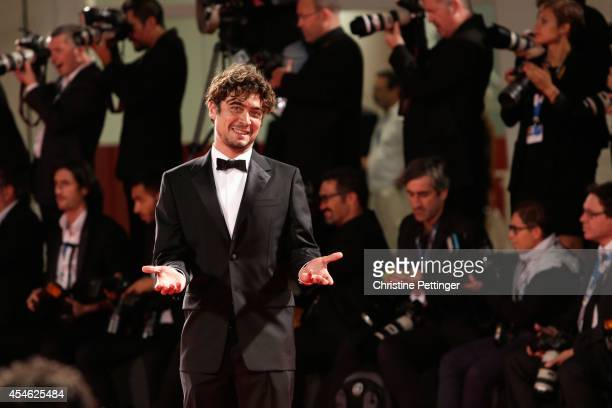 Riccardo Scamarcio attends 'Pasolini' Premiere during the 71st Venice Film Festival on September 4 2014 in Venice Italy