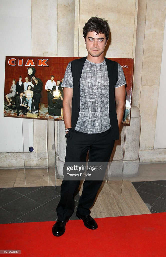 Riccardo Scamarcio attends the 'Ciak D'Oro' awards ceremony on June 8, 2010 in Rome, Italy.