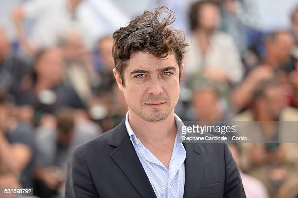 Riccardo Scamarcio attends the 'Percile Il Nero' Photocall during the 69th annual Cannes Film Festival at the Palais des Festivals on May 19 2016 in...