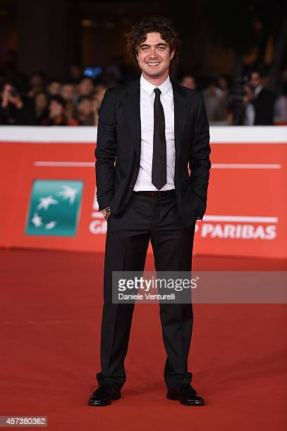 Riccardo Scamarcio attends the 'Still Alice' Red Carpet during the 9th Rome Film Festival on October 17 2014 in Rome Italy
