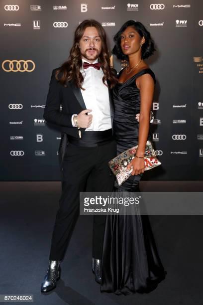 Riccardo Simonetti and Anuthida Ploypetch attend the 24th Opera Gala at Deutsche Oper Berlin on November 4 2017 in Berlin Germany