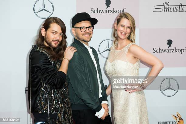 Riccardo Simonetti Armin Morbach and Nicola Surholt attend the Tribute To Bambi at Station on October 5 2017 in Berlin Germany