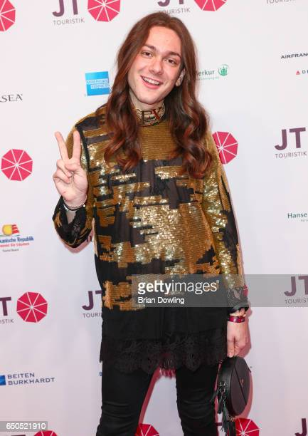 Riccardo Simonetti arrives at the JT Touristik party at Hotel De Rome on March 9 2017 in Berli