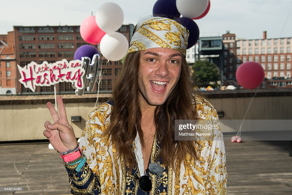 Riccardo Simonetti during the 'LECK MICH AM HASHTAG' Brunch on June 30, 2016 in Berlin, Germany.
