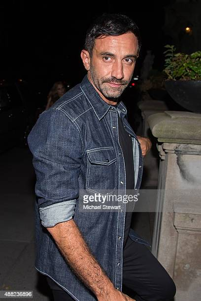 Riccardo Tisci is seen on the Upper East Side on September 14 2015 in New York City