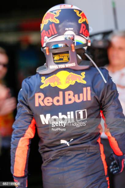 Ricciardo team red bull during the Formula One GP of Spain 2017 celebrated at Circuit Barcelona Catalunuya on 14 May 2017 in Barcelona Spain