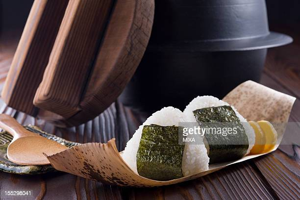 Rice Ball and Iron Pot