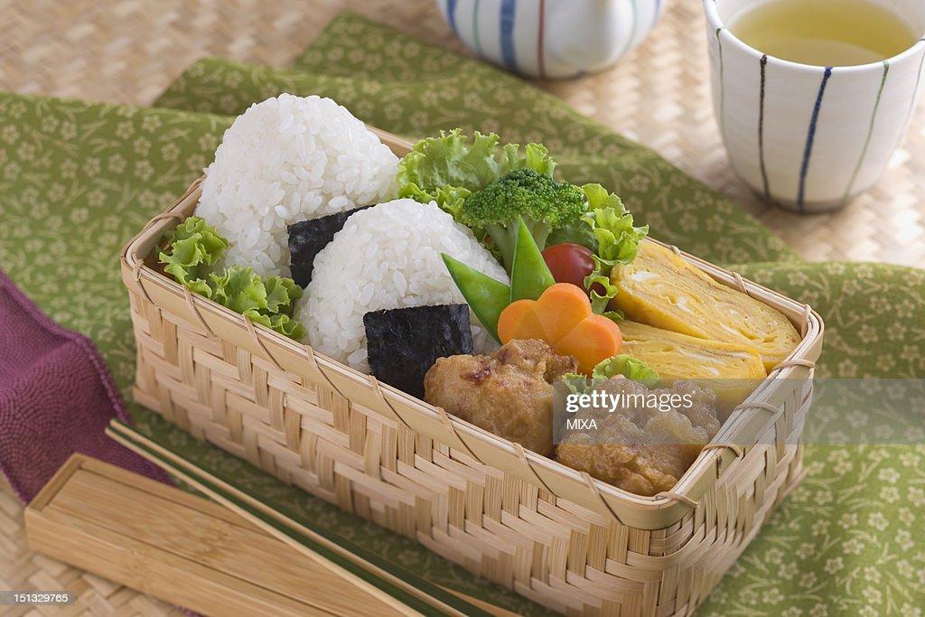 Rice Ball Bento