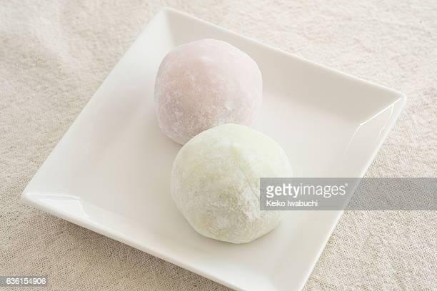 Rice cake called Daifuku Mochi in Japanese