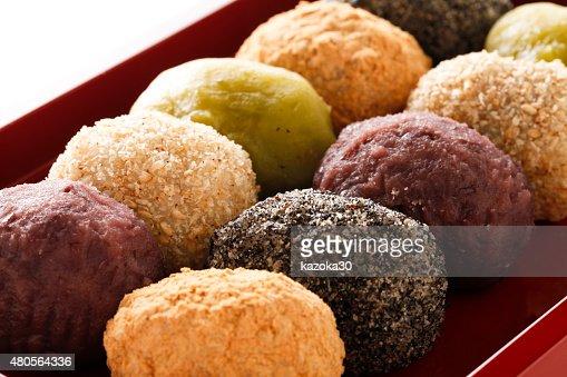 Rice cake dumpling : Stock Photo