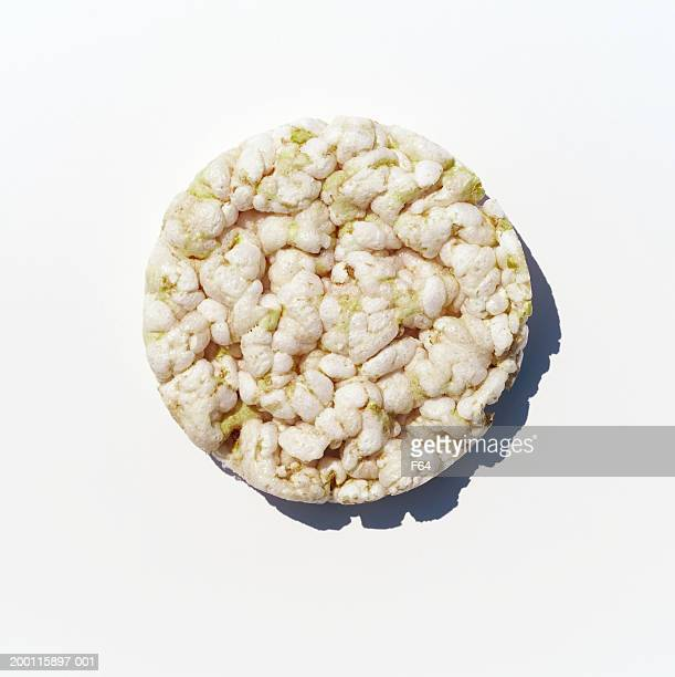 Rice cake, overhead view