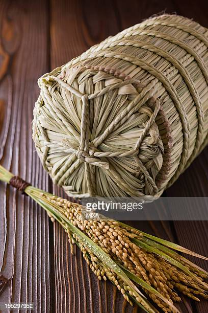 Rice Ear and Rice Bale