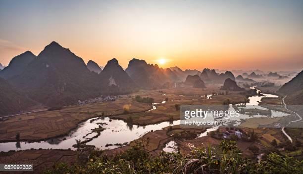 Rice field at Trung Khanh, Cao Bang, Viet nam