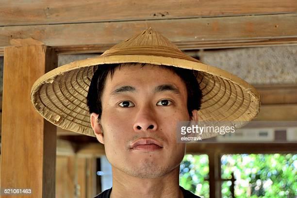 Rice hat