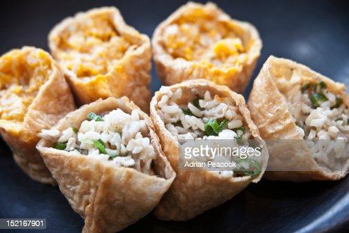rice in pitta : Stock Photo